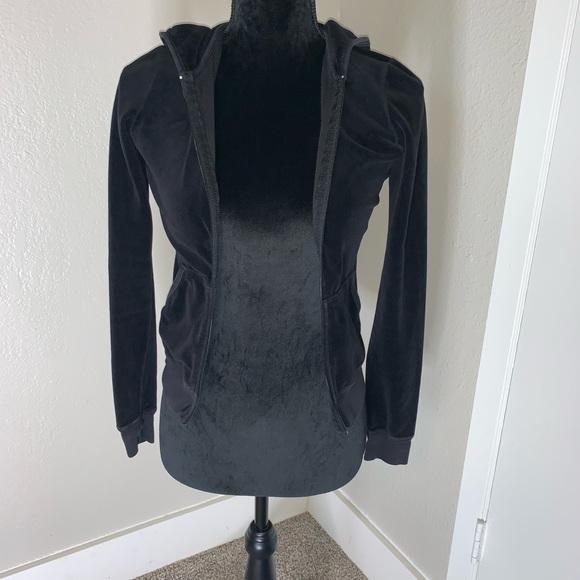 Juicy Couture Jackets & Blazers - juicy couture velour hoodie jacket- no zipper